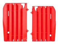 New Polisport CRF 450 R 09-12 Radiator Louvres Plastics Red Motocross